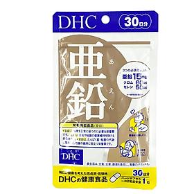 Viên Uống Bổ Sung Kẽm Cho Cơ Thể Khỏe Mạnh DHC ZinC 30 ngày Bao bì mới