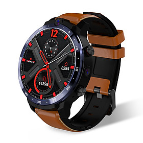 LEMFO LEM12 Smart Watch 1.6 Inch Big Screen Android 7.1 RAM3G ROM32G LTE 4G Sim 5MP+8MP Dual Camera IP67 Waterproof GPS