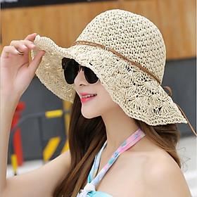 Mũ cói mềm tiểu thư đi chơi đi biển