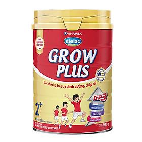 Sữa Bột Vinamilk Dielac Grow Plus 2+ - Đỏ Hộp Thiếc 900g