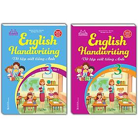 Combo 2 Cuốn: English Handwriting - Vở Tập Viết Tiếng Anh Lớp 3