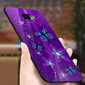 Ốp kính cường lực cho điện thoại Samsung Galaxy S7 edge - bướm đẹp MS BUOMD072 - Hàng Chính Hãng