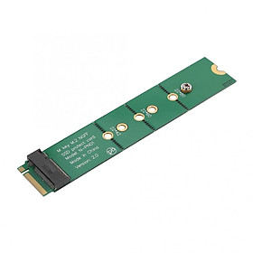 Fun M.2 SSD Key B Slot to B+M Interface Adapter Test Protection Card B+M key M.2 Male to Female Slot Extension Board Adapter - Green