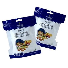 [ Sản Phẩm Mỹ] Combo 2 gói BEING HEALTHY  - Tổng hợp hạt dinh dưỡng, trái cây sấy khô Rostaa - Mixed nuts
