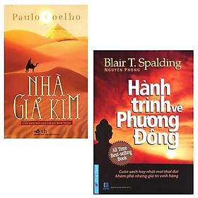 Combo sách hay mọi thời đại :  Nhà giả kim+ Hành trình về phương đông ( khổ lớn _ tặng kèm BOOKMARK HAPPY LIFE )