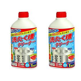 Combo 2 Chai nước tẩy lồng máy giặt 400ml nội địa Nhật Bản