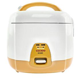 Nồi cơm điện Cuckoo CR-0331 0.5L (Vàng nhạt) - Hàng chính hãng