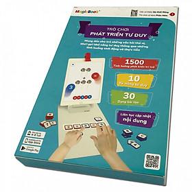 Trò chơi phát triển trí tuệ trẻ em Magicbook Bộ Phát Triển Tư Duy
