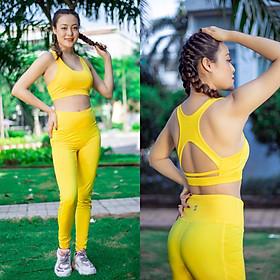 Set quần áo tập Gym-Yoga-Aerobic chuyên nghiệp - S40037 - Đồ tập Yoga - Gym nữ
