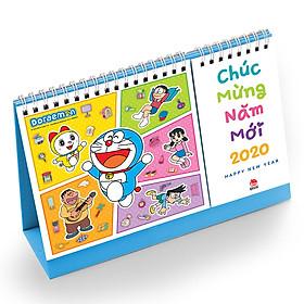 Lịch Bàn Doraemon 2020