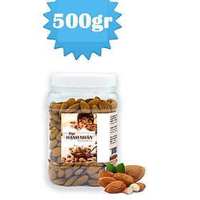 500 gram Hạt Hạnh Nhân TETE - Đã Rang