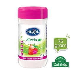 Đường Ăn Kiêng Huxol Cỏ Ngọt Stevia Tự Nhiên 75g- Nhập khẩu chính hãng từ Đức
