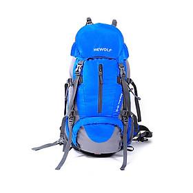 Balo du lịch dã ngoại phượt leo núi Hewolf HWB1650 hàng chính hãng dành cho cả nam và nữ