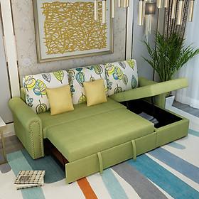 Sofa giường góc chữ L phòng khách đa năng DP-SGKL04