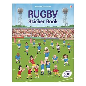 Usborne Rugby Sticker Book