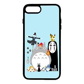 Ốp lưng dành cho Iphone 8 Plus G.H.I Đen Nền Xanh - Hàng Chính Hãng