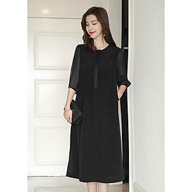 Đầm Suông Trung Niên Tay Lỡ 2219TB