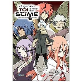 Sách - Về Chuyện Tôi Chuyển Sinh Thành Slime - Tập 1, 2