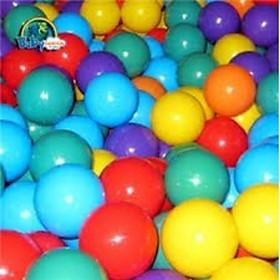 Túi 100 quả bóng to fi 7cm