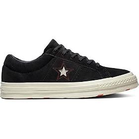 Giày Sneaker Nữ One Star Converse 163193V - Black/Sedona Red/Egret