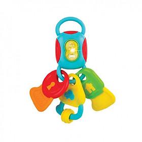 Chìa khóa đồ chơi có nhạc Winfun tặng xe trượt đà cho bé VBCare-123-6 (ngẫu nhiên)