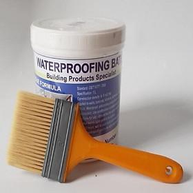 Keo chống thấm trong suốt nhà tắm, nhà vệ sinh. Tặng kèm chổi quét sơn