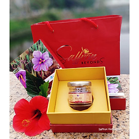 Nhụy hoa nghệ tây Pure Kashmir Kesar Saffron hộp 3g