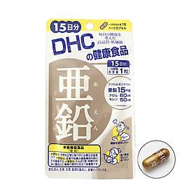 Viên Uống Bổ Sung Kẽm Cho Cơ Thể Khỏe Mạnh DHC ZinC 15 ngày Bao bì mới
