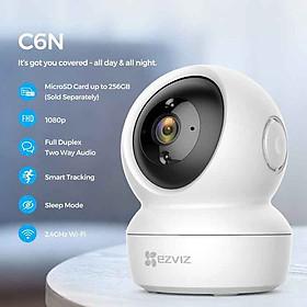 Camera IP Wifi Ezviz – C6N độ phân giải 2MP, quay quét thông minh hàng chính hãng Nhà An Toàn