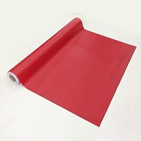 Giấy dán tường màu đỏ - khổ 1,2m - có sẵn keo
