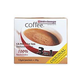 Cà phê hòa tan 3in1 Original 20g - Bùi Văn Ngọ Coffee