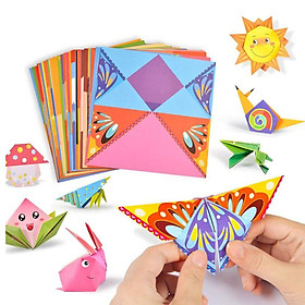 Origami Paper Kids DIY Paper Baby Early Learning Education Toys Gifts Animal