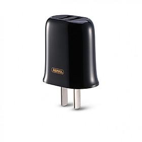 Củ Sạc Điện Thoại 2 Cổng USB REMAX RP-U15 2.1A - Hàng Chính Hãng + Tặng Kèm 1 Ghế Đơ Đa Năng T2