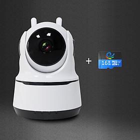 Camera Wifi Quan Sát Trong Nhà 2.0Mpx, hỗ trơ đàm thoại 2 chiều, báo động cực nhạy, xoay theo chuyển động, Bảo PAF200