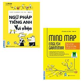 COMBO Funny Grammar for you Basic Ngữ pháp tiếng Anh vui nhộn + Mindmap English Grammar Ngữ pháp tiếng Anh bằng sơ đồ tư duy