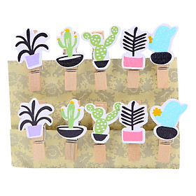 Hình đại diện sản phẩm Bộ Kẹp Ảnh Gỗ - Plants