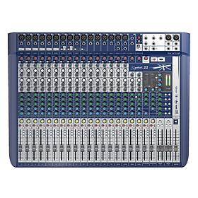 Bộ Trộn Âm Thanh Soundcraft Signature 22-EU-Mixing