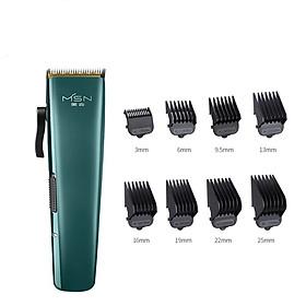 Tông đơ cắt tóc điện nam xiaomi MSN với lưỡi sứ có thể điều chỉnh, độ rung thấp và tắt tiếng