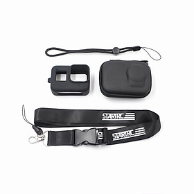 STARTRC GoPro Hero Camera 4 In 1 Accessory Set Storage Box Silicone Body Case Hand String Neck Lanyard for GoPro Hero 8