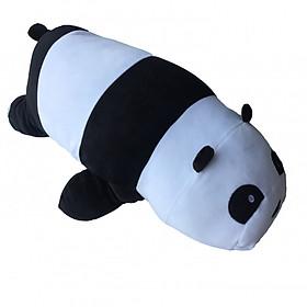 Hình đại diện sản phẩm Combo 3 con Gấu ôm We Bare Bears nhồi bông 2 - 65cm - Gấu bông Việt Nam cao cấp