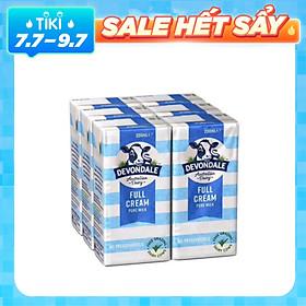 Thùng 4 Lốc Sữa Nguyên Kem Devondale Fullcream (4 x 6 x 200Ml)