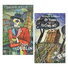 Combo 2 Cuốn Tiểu Thuyết Lãng Mạn: Dân Dublin + Âm Thanh Và Cuồng Nộ (Tái Bản) / Bộ Những Cuốn Tiểu Thuyết Hay Nhất - Tặng Kèm Bookmark Happy Life