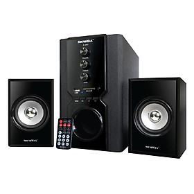 Loa Vi Tính SoundMax A-960/2.1 40W Tích Hợp Bluetooth 4.0 - Hàng Chính Hãng