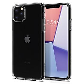Ốp lưng chống sốc hàng hiệu Spigen Crystal Flex trong suốt cho iPhone 11 Pro Max - Hàng chính hãng