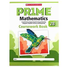 2B Scholastic Pr1Me Mathematics Coursework Book