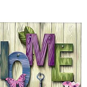 DIY 5D Diamond Painting Kits Rhinestone Cross Stitch Decor Home and Love