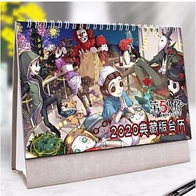 (Lịch 2020) Lịch Identity V Nhân cách thứ năm in ảnh đẹp anime chibi idols lịch để bàn tặng ảnh thiết kế Vcone