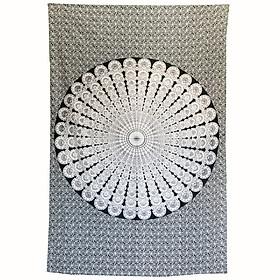 Khăn trang trí Mandalain 100% cotton 140cm x 220cm  T02
