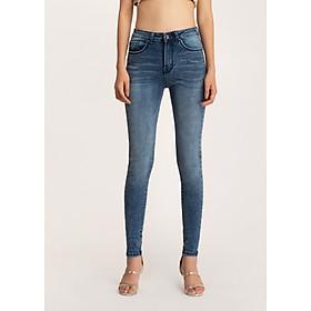 Hình đại diện sản phẩm Quần jeans nữ AAA JEANS skinny xanh WS Meraki