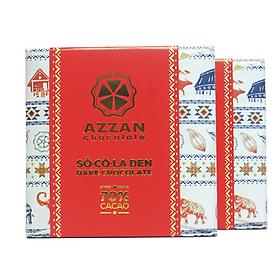 Chocolate Đen Nguyên Chất 70% Cacao 60Gr - Azzan